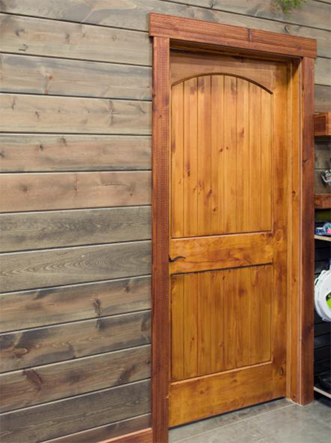 The Tongue And Groove Board Offers Versatility And Many Uses As It Has Been  Used In Making Interior Doors And Even Installed On Interior Walls.